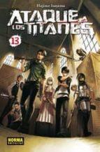 ataque a los titanes 13 hajime isayama 9788467918472