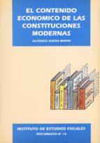 contenido economico de las constituciones modernas, el-alfonso ojeda marin-9788471968272