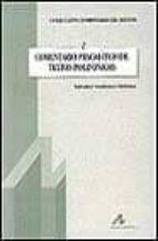 comentario pragmatico de textos polifonicos salvador gutierrez ordoñez 9788476352472