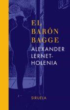 el baron bagge alexander lernet holenia 9788478449972