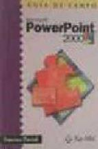 guia de campo: power point 2000-francisco pascual-9788478973972