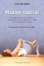 masaje fascial stefanie arend 9788491112372