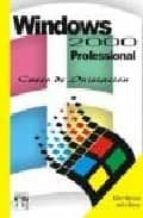Ebook de descarga gratuita en PDF Windows 2000 professional: curso de iniciacion