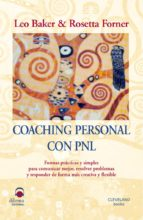 coaching personal con pnl-rosetta forner-leo baker-9788496079472