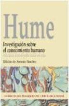 investigacion sobre el conocimiento humano david hume 9788497420372
