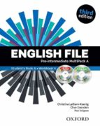 english file third edition: pre intermediate: multipack a with itutor and ichecker 9780194598682