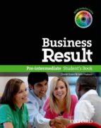 business result pre-intermediate student s book with dvd-rom pk-9780194739382