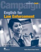 campaign for law enforcement student s book + cdr pk-9780230732582