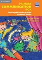 primary communication box : speaking and listening activities caroline nixon michael tomlinson 9780521549882