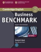 business benchmark (2nd edition) upper-intermediate. business van tage student's book-guy brook-hart-norman whitby-9781107680982