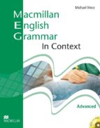 macmillan english grammar in context advanced without key and cd  rom pack 9781405071482