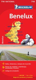 mapa benelux 2012 (ref. 714)-9782067170582