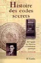 histoire des codes secrets: de l egypte des pharaons a l ordinate ur quantique simon singh 9782709620482