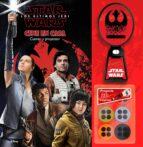star wars: los ultimos jedi: cine en casa: cuento con proyector 9788408182382