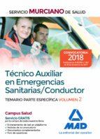 técnico auxiliar en emergencias sanitarias/conductor.temario part e específica vo 9788414214282