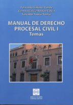 manual de derecho procesal civil, i-fernando jimenez conde-9788415668282