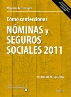 Libro EPUB Gratis Como confeccionar nominas y seguros sociales 2011