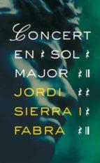 concert en sol major-jordi sierra i fabra-9788424646882