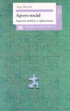 apoyo social: aspectos teoricos y aplicaciones-ana barron-9788432309182