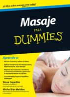masaje para dummies (ebook)-steve capellini-michel van welden-9788432901782