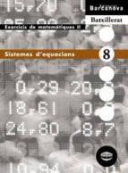 sistemes d equacions (cataluña) 9788448915582