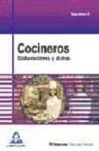cocineros: elaboraciones y dietas (volumen ii) 9788467620382
