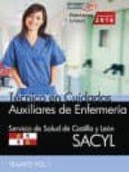auxiliar de enfermería (sacyl) temario vol i 9788468169682