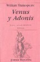 venus y adonis (ed. bilingüe ingles-español)-william shakespeare-9788475177182