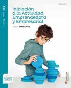 iniciacion actividad empresa i 2º eso saber hacer ed 2016 andalucia-9788483055182