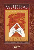 mudras (pack cartas + libro) gertrud hirschi 9788484453482