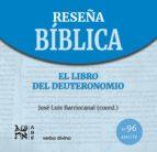 el libro del deuteronomio (ebook)-josé luis barriocanal gómez-9788490733882