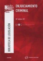 civitas - enjuiciamiento criminal (38ª ed.)-9788491528982