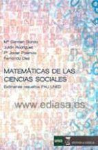 El libro de Matematicas de las ciencias sociales autor VV.AA. TXT!