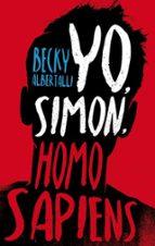 yo, simon, homo sapiens-becky albertalli-9788496886582