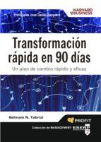transformacion rapida en 90 dias-behnam tabrizi-9788496998582