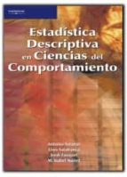 estadistica descriptiva en ciencias del comportamiento 9788497322782