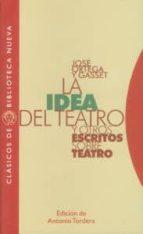 la idea del teatro y otros escritos sobre teatro jose ortega y gasset 9788497428682