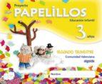 El libro de Papelillos 3 años. 2º trimestre (educacion infantil comunidad val enciana) autor VV.AA. TXT!