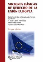 nociones básicas de derecho de la unión europea 9788499612782