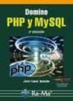 domine php y mysql jose lopez 9788499640082
