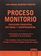 proceso monitorio juan manuel bermudez requena 9789897124082