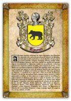APELLIDO ALPUENTE / ORIGEN, HISTORIA Y HERÁLDICA DE LOS LINAJES Y APELLIDOS ESPAÑOLES E HISPANOAMERI