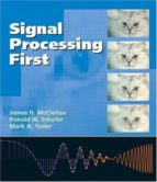 signal processing first (with cd rom) james h. mcclellan ronald w. schafer 9780130909992
