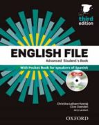 pack english file. level advanced. student s book (+ workbook)   3rd edition 9780194502092