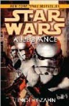 star wars allegiance timothy zahn 9780345477392