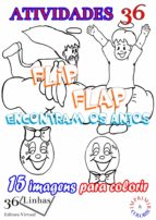 atividades 36 - flip flap conhecem os anjos (ebook)-silvia strufaldi-9781370676392