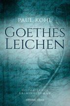 goethes leichen (ebook)-paul kohl-9783863588892