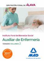 técnico/a auxiliar de enfermería del instituto foral de bienestar social de la diputación foral de álava. temario volumen 2 9788414219492