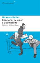 canciones de amor a quemarropa (ebook) nickolas butler 9788416213092