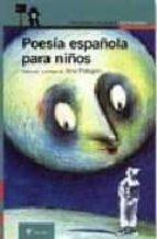 poesia española para niños (2ª ed.) ana maria pelegrin 9788420448992